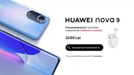 Huawei prezinta noile telefoane din seria Nova: 8i si 9