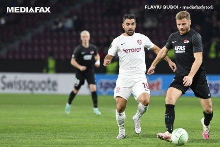CFR Cluj a fost invinsa de AZ Alkmaar in Conference League. Camp<span style='background:#EDF514'>IOANA ROMAN</span>iei se afla pe ultimul loc in grupa