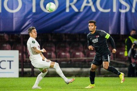 Panduru dupa CFR - AZ 0-1: Parca Petrescu vrea sa joace un fotbal pe care nu il stie