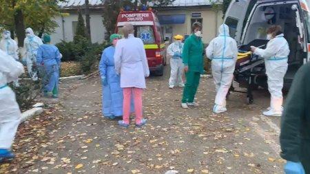 Instalatia de oxigen a spitalului din Targu <span style='background:#EDF514'>CARBUNESTI</span> a cedat. Peste 100 de pacienti in stare critica. Planul rosu a fost activat