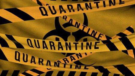 Focsaniul a intrat in carantina din cauza cresterii ratei de infectare