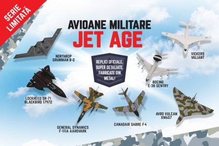 Avioane militare Jet Age, la chioscurile de ziare