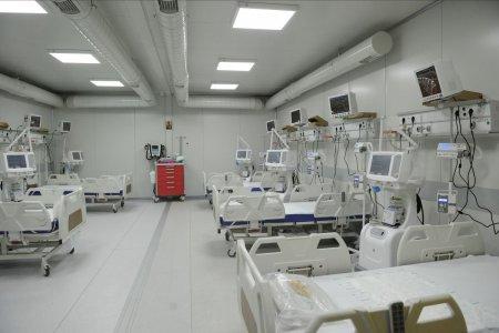 Toate paturile ATI din Spitalul de la Letcani, functionale de azi, la mai bine de un an de la deschidere