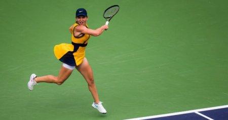 Simona Halep, invinsa in <span style='background:#EDF514'>SFERTURI</span>le de finala de la Moscova. Maria Sakkari merge in semifinale
