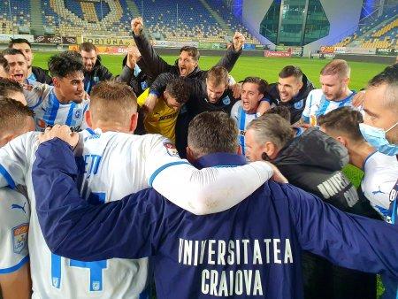 Craiova lui Reghecampf ajunge pe locul secund in Liga 1