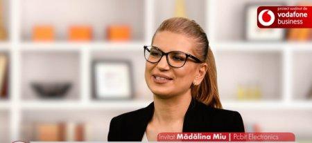 Proiect ZF/Vodafone. Femei In business. Madalina Miu, cofondatoare si managing director, Pcbit Electronics: Marja de profit este cea mai mare provocare in acest tip d<span style='background:#EDF514'>E BUSINESS</span>