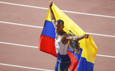 Atletul ecuadorian Alex Quiñonez, medaliat cu bronz la Mondialul 2019, a fost impuscat mortal