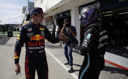Max Verstappen l-a insultat pe Lewis Hamilton, in timpul antrenamentelor pentru MP al SUA: Un idiot!