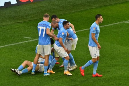 FC Voluntari - <span style='background:#EDF514'>FC ARGES</span> 0-2. Prima infrangere a ilfovenilor dupa sase victorii consecutive