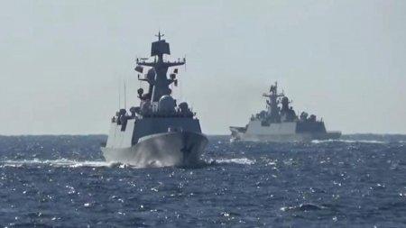 China si Rusia isi arata muschii in Pacific. Vasele de razboi ale celor doua puteri nucleare au patrulat impreuna. Japonia isi pregateste trupele de lupta