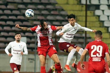 Rapid a remizat in deplasare cu Dinamo, printr-un gol marcat in prelungiri