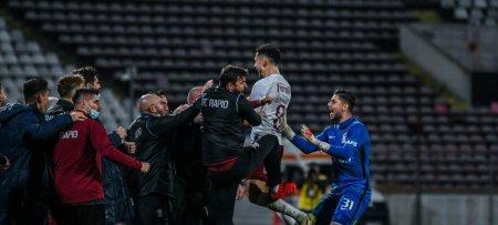 Dinamo - Rapid 1-1, in Liga 1. Carnat a egalat in prelungiri (Video)