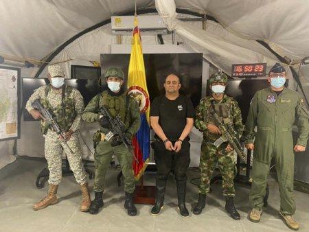 Presedinte: Cea mai mare lovitura de la de la moartea lui Pablo Escobar. Cel mai mare traficat de droguri din Columbia a fost capturat intr-o operatiune cu sute de mebrii ai <span style='background:#EDF514'>TRUP</span>elor speciale si 22 de elicoptere