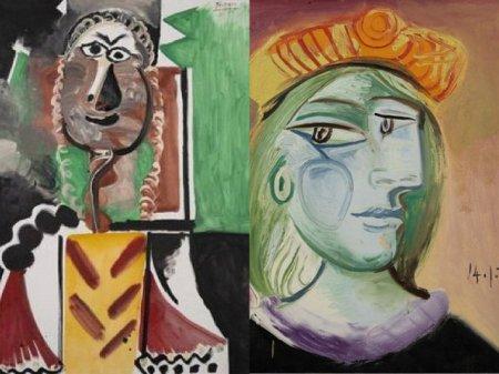 FOTO Peste 110 milioane de dolari este suma cu care s-au vandut la licitatie mai multe capodopere <span style='background:#EDF514'>REALIZAT</span>e de Picasso
