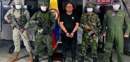 Otoniel, cel mai important traficant de droguri columbian, a fost capturat
