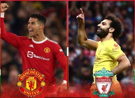 Derby-ul Angliei se joaca pe Old Trafford. Ronaldo vs Salah