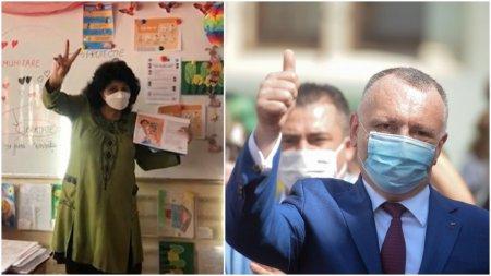 <span style='background:#EDF514'>CIMPEANU</span>, despre profesoara amenintata cu moartea dupa ce le-a vorbit de COVID copiilor: A avut o atitudine, asa cum doresc sa aiba toti dascalii din Romania