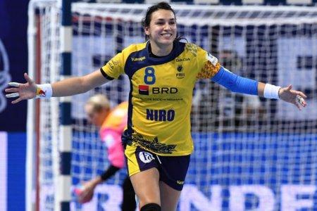 Cristina Neagu a purtat-o spre victorie pe CSM Bucuresti in meciul cu Budućnost Podgorica