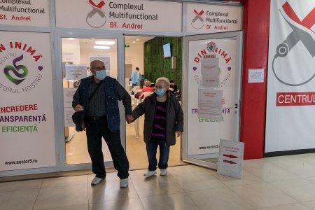 Peste 110.000 de persoane vaccinate, in usoara scadere fata de ziua precedenta