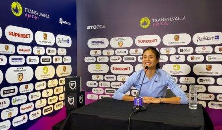 Emma Raducanu, descusuta la Transylvania Open: cum i s-a schimbat viata dupa US Open