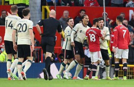 Ronado, gest golanesc in Manchester United - Liverpool! Trebuia eliminat?