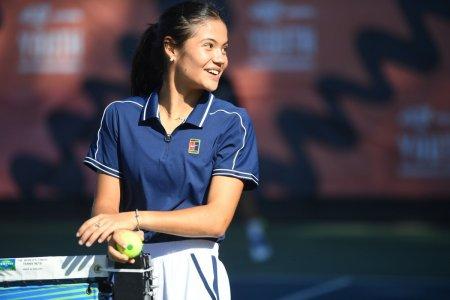 Emma Raducanu, inaintea turneului de la Cluj: Oamenii au fost foarte prietenosi cu mine. Iubesc Romania!