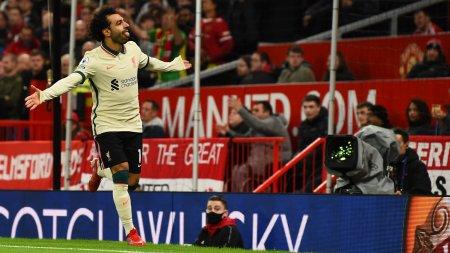 Ce umilinta! Liverpool castiga cu 5-0 pe Old Trafford. Ce le-a spus Klopp jucatorilor sai la <span style='background:#EDF514'>PAUZA</span> e fabulos