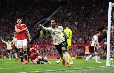 Manchester United - Liverpool 0-5. Cea mai drastica infrangere din istoria de 126 de ani a derby-ului
