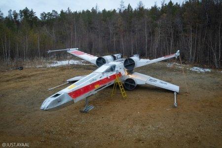 Cum arata aeronava-replica din filmul Razboiul Stelelor, construita de rusi (VIDEO)