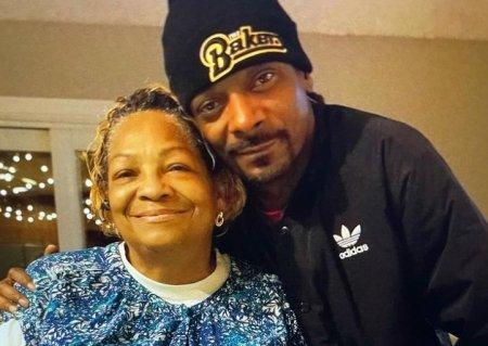 Mama lui Snoop Dogg a murit la 70 de ani. Mesajul rapperului: Doamne, mi-ai dat un inger pe post de mama