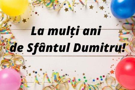 Mesaje de <span style='background:#EDF514'>SFANTU</span>l Dumitru. Alege cele mai frumoase urari, SMS-uri si mesaje de la multi ani de <span style='background:#EDF514'>SFANTU</span>l Dumitru