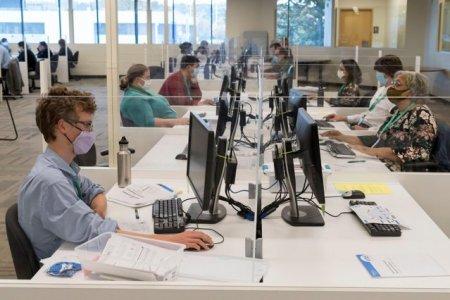 Studiu: Lucrul exclusiv de acasa pierde viteza in fata muncii de la birou. Care sunt explicatiile