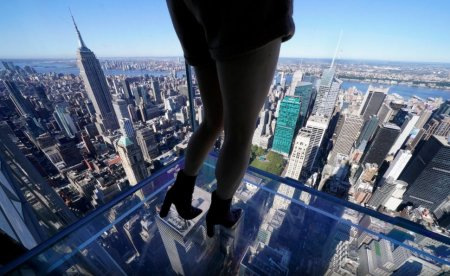 O <span style='background:#EDF514'>NOUA</span> atractie turistica in New York, de la inaltimea unui zgarie-nori. Despre ce este vorba