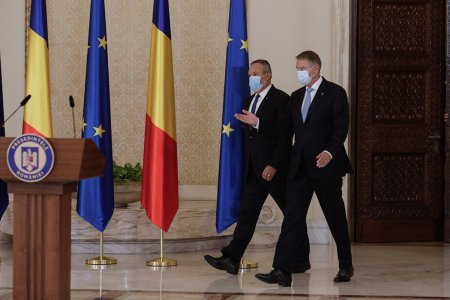 Surse: Presedintele Klaus Iohannis se intalneste cu Nicolae Ciuca si Florin Citu