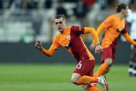 Cicaldau, gol <span style='background:#EDF514'>SUPER</span>b in primul lui derby Besiktas - Galatasaray!