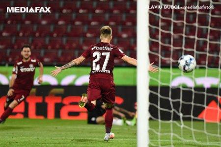 CFR Cluj isi consolideaza prima pozitie in Liga 1 dupa victoria cu Sepsi Sf. Gheorghe