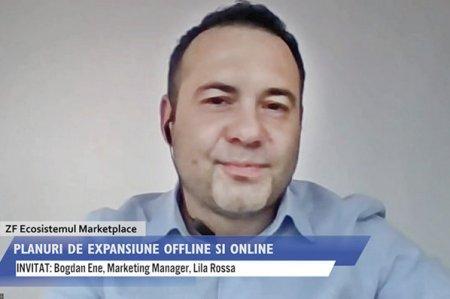 ZF Ecosistemul Marketplace. Bogdan Ene, marketing manager in cadrul Lila Rossa: Vizam o crestere de 20% a cifrei de afaceri, deschiderea a inca trei magazine fizice si vrem sa ne extindem si pe platforma marketplace a eMAG din Ungaria