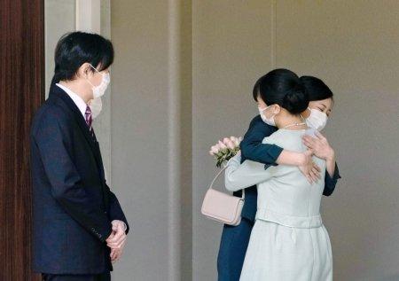 Printesa Mako a Japoniei s-a casatorit cu un fost coleg de facultate, dupa ani de controversa