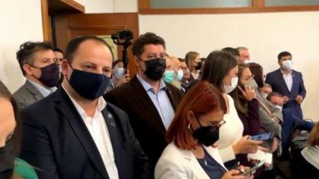 Scandal la Comisia de Sanatate: Parlamentarii AUR au oprit sedinta. Streinu-Cercel a iesit din sala