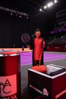 Jaqueline Cristian a bagat spaima in adversara, la debutul la Transylvania Open