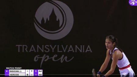 Transylvania Open. Emma Raducanu a castigat primul sau meci in circuitul WTA. Toate rezultatele zilei - VIDEO
