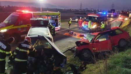 O persoana a murit si alte doua, ranite, in urma unui accident produs in Alba