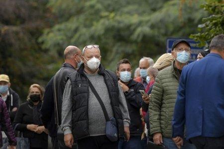 Rata de infectare cu COVID in Bucuresti a coborat sub pragul de 16 cazuri la mie