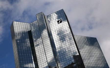 Nemtii de la Deutsche Bank au inchis al cincilea trimestru consecutiv pe profit. Directorul financiar al bancii crede ca inflatia este mai mult decat tranzitorie