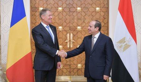 Klaus Iohannis, in Egipt: Romania este interesata de stabilizarea situatiilor de criza din Orientul Mijlociu