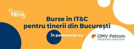 OMV Petrom se alatura programului Generatia Tech. Ofera 120 de burse de specializare in IT&C pentru tineri din Bucuresti si Pitesti