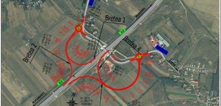 Trei noi noduri rutiere vor fi construite pe autostrazile A1, A2 si A3. Unde vor fi amplasate si cum vor arata
