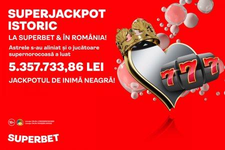 SuperJackpotul istoric Superbet de peste 1 milion de euro s-a castigat!