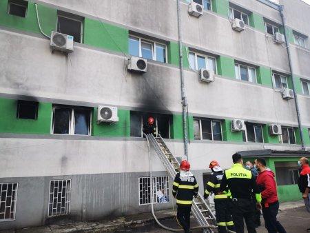 Se redeschide Spitalul de Boli Infectioase Constanta, cuprins de incendiu la inceputul lunii octombrie