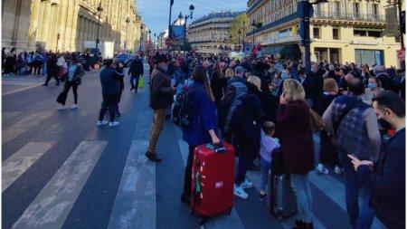 Alerta cu bomba in Gara de Nord din Paris